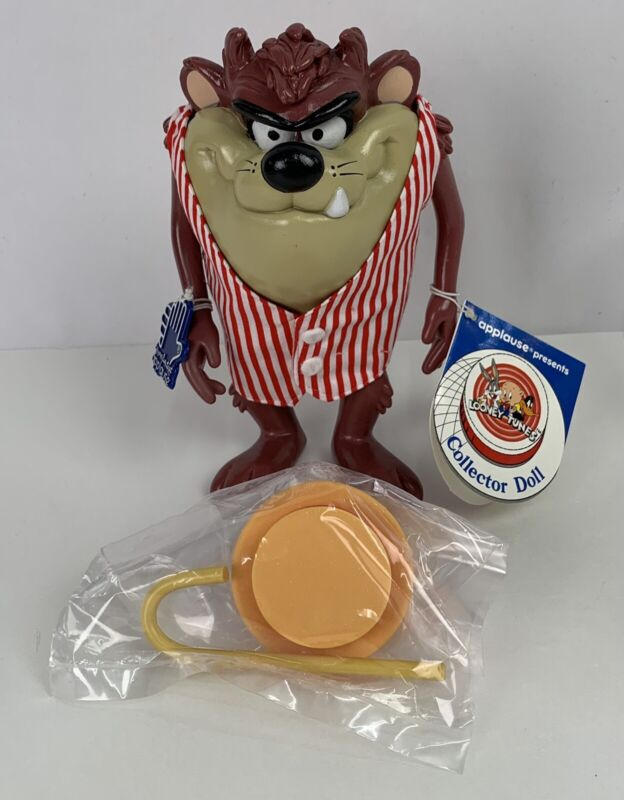 1990 Applause Warner Bros Looney Tunes Tasmanian Devil Collector Doll