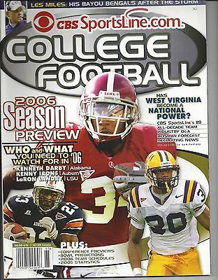 Alabama Crimson Tide  Lsu Tigers  Auburn Tigers 2006 Cbs Sportsline Com