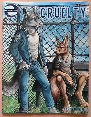 Cruelty by Rukis (graphic novel, gay furry, Furplanet, comic book, erotic)
