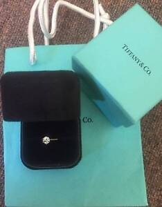 TIFFANY & CO PLATINUM DIAMOND SOLITAIRE ENGAGEMENT RING 54 CT NEW Darwin CBD Darwin City Preview