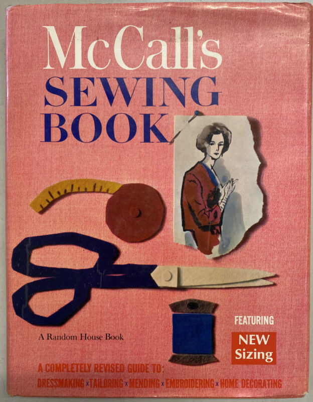 Vintage McCalls Sewing Book 1968 Random House Hardcover Good Condition!!