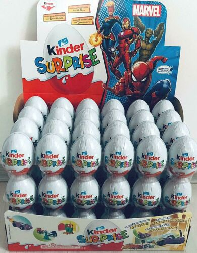 10 pcs eggs Kinder Chocolate eggs with surprise toy inside