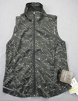 Under Armour Ua Storm 1 Womens Reflective Granite Camo Layered Up Vest Nwt S  80