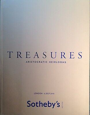 Sotheby's Catalog TREASURES ARISTOCRATIC HEIRLOOMS DECORATION 7/2010 LONDON