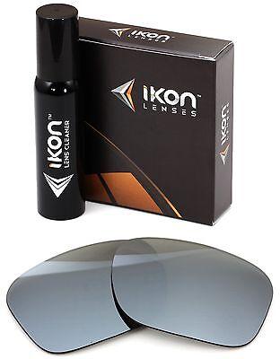 0250cdbc88 Polarized IKON Iridium Replacement Lenses For Oakley Catalyst Silver Mirror