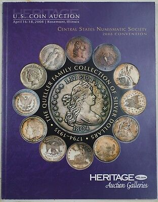 April 16 18 2008 Heritage Queller Family Collection Catalog Rosemont Il Rse A21