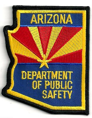 ARIZONA DEPARTMENT OF PUBLIC SAFETY - SHOULDER - IRON ON PATCH