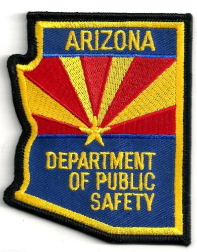 ARIZONA DEPARTMENT OF PUBLIC SAFETY - SHOULDER PATCH - IRON OR SEW-ON PATCH