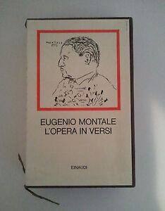 EUGENIO-MONTALE-L-039-OPERA-IN-VERSI-EINAUDI-I-Millenni-1-ed-1980