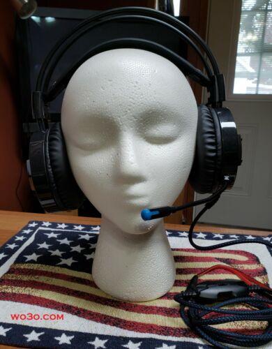 Headset MIC 4 Icom IC 7300 746 & 756 & PRO PRO II PRO III 7700 7800 8 PIN ROUND