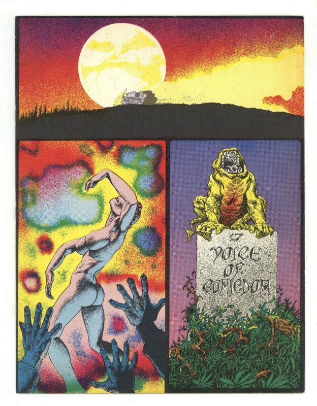 Voice of Comicdom #17 FN 6.0 1971