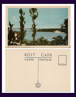 Canada Nova Scotia Baddeck Bay Bras Dor Lakes Peco Number 19 Circa 1940