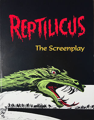 REPTILICUS - The Screenplay Classic 60's AIP Danish Giant Monster Movie Book!