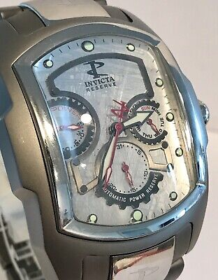 Invicta Meteorite Titanium Grand Lupah Power Reserve Limited Ed Auto Mens Watch