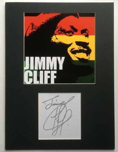 JIMMY CLIFF 12x16 signed autograph