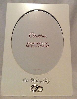 "Wedding Day Frame - 8""x10"" Photo - Brand New"