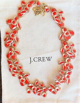 SALE!!NWT $159 J.CREW  Crystal Cluster Stone Necklace - color (Sale Quartz Necklace)