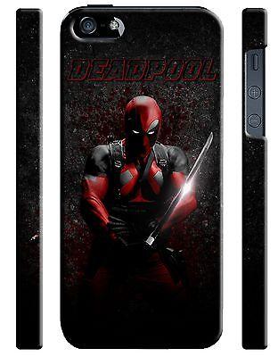 Iphone 4 4s 5 6 6S 7 8 X XS Max XR 11 Pro Plus Hard Case Deadpool Hero Comics 1