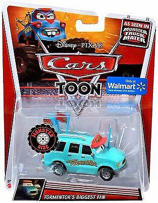 n Die Cast Monster Truck Mater Tormentor's Biggest Fan NEW (Monster Bbw)