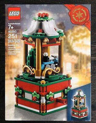 NEW - LEGO Holiday Christmas - Rare Exclusive 40293 Christmas Carousel