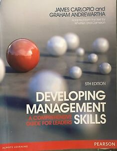 Developing management: A comprehensive leaders skill 5th edition Kelvin Grove Brisbane North West Preview