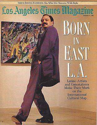 Los Angeles Times Magazine Born In East La March 1988  Vgc