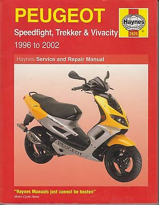 PEUGEOT SPEEDFIGHT TREKKER VIVACITY ( 1996 - 2002 ) SERVICE & REPAIR MANUAL