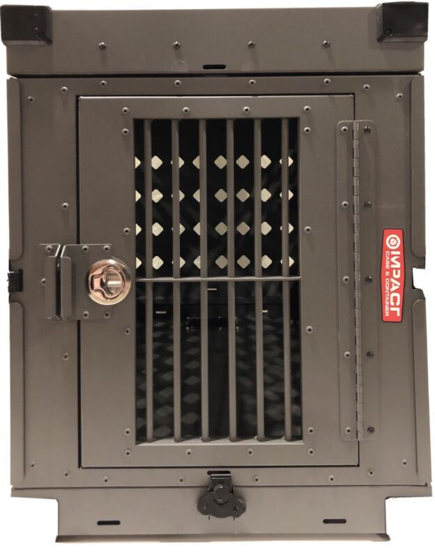 Impact Metal Dog Crate Colapsable