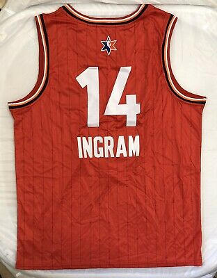 Brandon Ingram #14 Western NBA All Star Game Team Giannis Jersey Size Large Wow