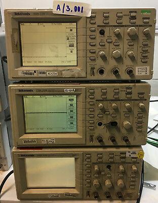 Tektronix Tds220- 2 Channel Digital Oscilloscope 100mhz 1gss