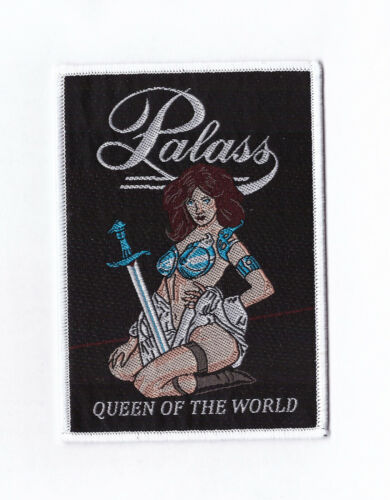 """Palass """"Queen Of The World"""" Patch ostrogoth-savage-sacred blade-tytan-heavy load"""