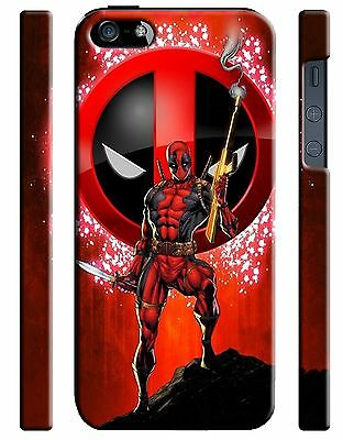 Iphone 4 4s 5 6 6S 7 8 X XS Max XR 11 Pro Plus Hard Case Deadpool Hero Comics 9