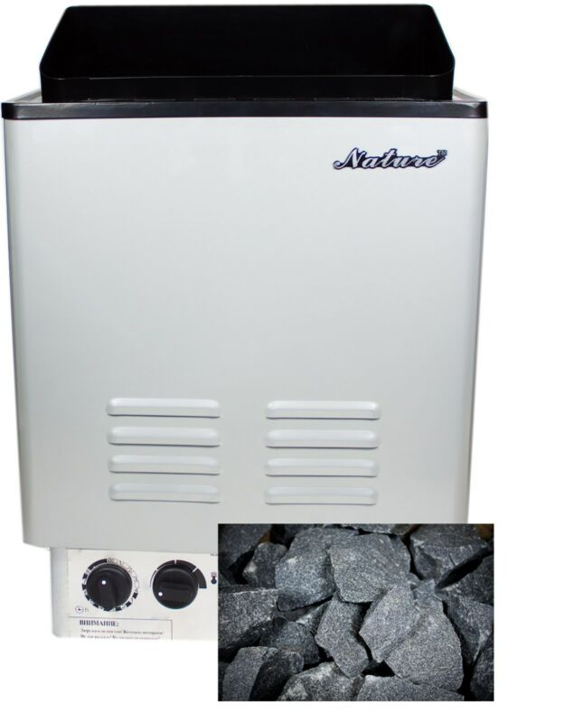 6KW Sauna Heater, Sauna Stove, Wet & Dry, Rock included, Free Shipping