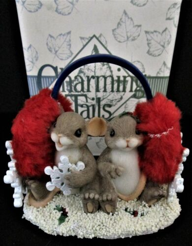 Fitz & Floyd - Charming Tails - Sharing Warms The Season #87/137 - MIB!