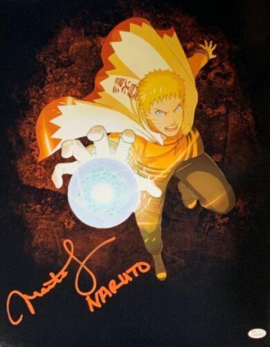 Maile Flanagan Autograph Signed 16x20 Photo - Naruto (JSA COA)