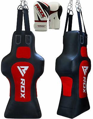 RDX Heavy Torso Dummy Punch Bag Boxing Gloves Training Grappling Body Slam B ()