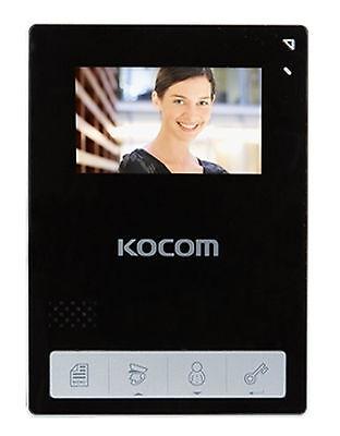 "Kocom KCV-434 Color Video phone 4.3"" Inch + KC-C60 Door Camera for 220V/60Hz BLK"