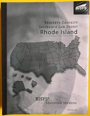 Property   Casualty Insurance Law Digest Rhode Island Bisys 8Th Edition