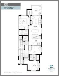 BRAND NEW 3bed 3bath  Blue Mountain Condo for rent May