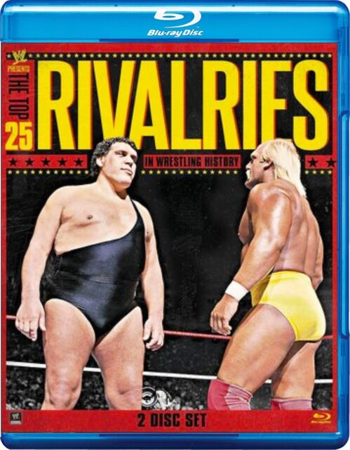 WWE -  The Top 25 Rivalries In WWE History (Blu-ray, 2013, 2-Disc Set) Region B