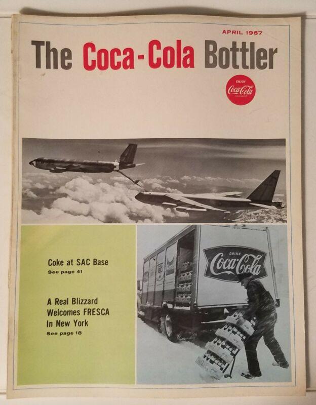 THE COCA-COLA BOTTLER - VINTAGE MAGAZINE - APRIL 1967