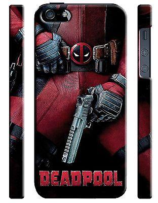 Iphone 4 4s 5 6 6S 7 8 X XS Max XR 11 Pro Plus Hard Case Deadpool Hero Comics 2