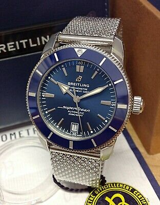Breitling Superocean Heritage II 42mm AB2010 Blue Dial 2020 With Papers UNWORN
