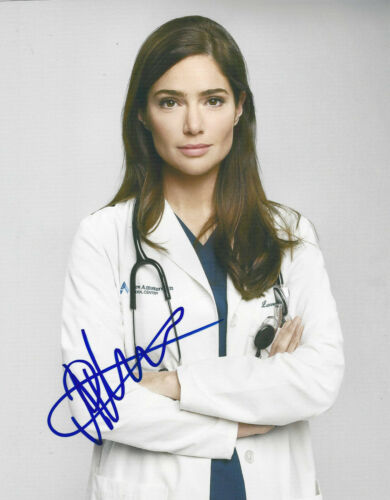 JANET MONTGOMERY SIGNED AUTHENTIC 'NEW AMSTERDAM' 8x10 PHOTO COA SEXY ACTRESS