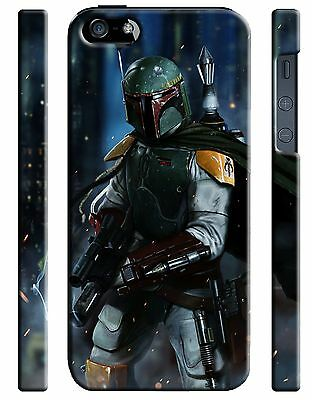 Star Wars 2015 Boba Fett Iphone 4s 5 6 7 8 X XS Max XR 11 Pro Plus Case ip10