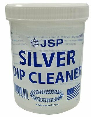 Sterling Silver Dip Cleaner Tarnish Remover 925 Jewelry Clea