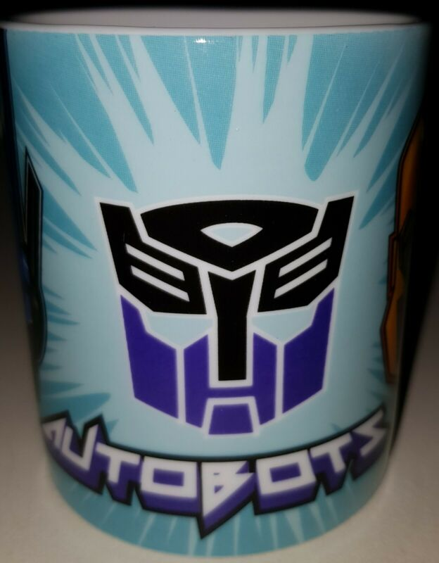 Transformers Autobots 2018 Coffee Mug Tea Cup In Mint Condition