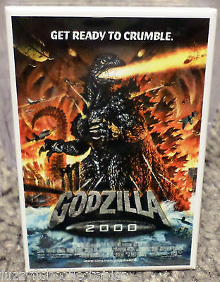 Godzilla 2000 Movie Poster 2