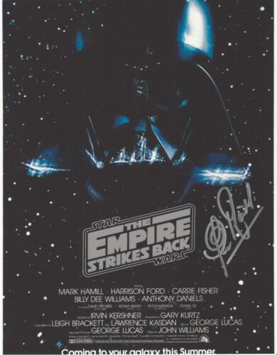 CLIVE REVILL SIGNED 'STAR WARS V: EMPIRE STRIKES BACK' EMPEROR 8X10 PHOTO B COA