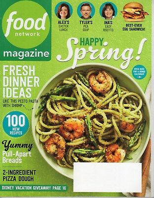 Food Network Magazine   2016   April   Spring   100 Recipes